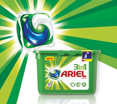 5,000 savvy circlers took Ariel 3in1 Pods for a spin to get beautifully clean and fresh laundry