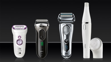 Our project with Braun's epilators and shavers