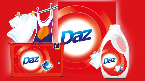 Give the new Daz for Whites & Colours a whirl!
