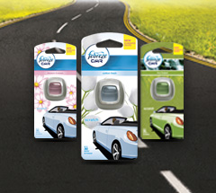 5,000 savvy circlers tried out Febreze Car bringing a freshness to every drive!