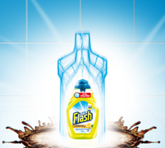 5,000 savvy circlers gave Flash Liquid-Gel a go for wonderfully clean floors and worktops