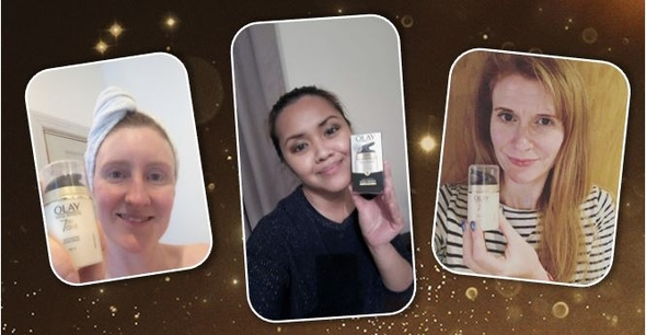 Thank you for participating in our Olay Project