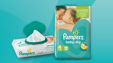 Our project with Pampers Baby Dry