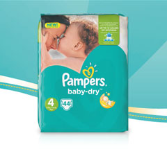 1,000 savvy circler parents had the chance to try out the new Pampers Baby Dry nappy!