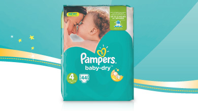 1,000 savvy circler parents are trying out the new Pampers Baby Dry nappy