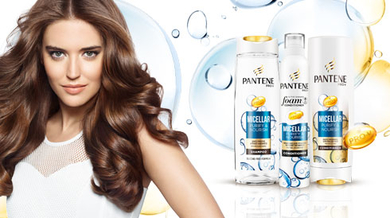 Our project with Pantene