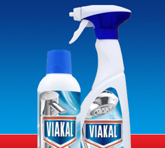 5,000 savvy circlers got on board to try out Viakal limescale remover for irresistibly shiny surfaces