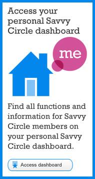 Visit Savvy Circle dashboard